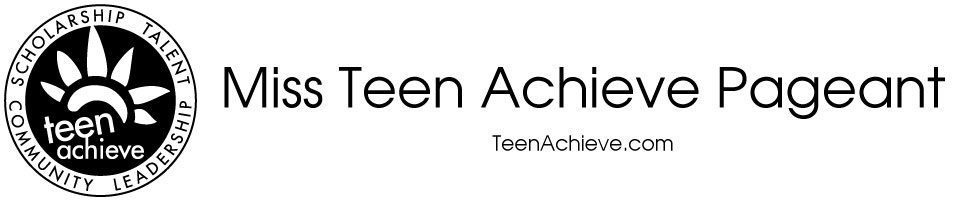 [Teen Achieve Pageant]